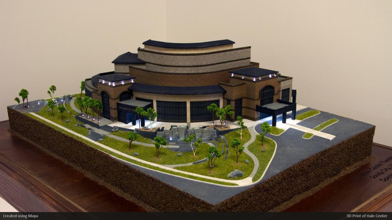 Hale Center 3D print