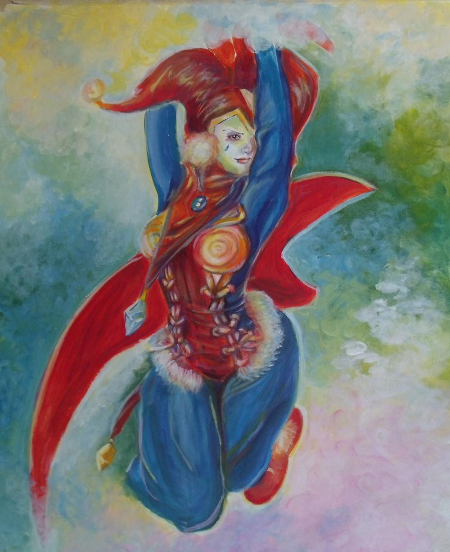 Artstation Harle Chrono Cross Fanart Mimi Reis Tello