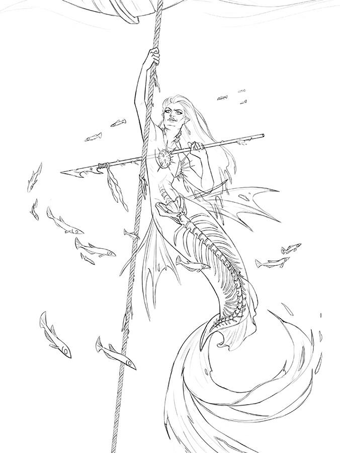 Collette curran ccurran mermaidghost lines