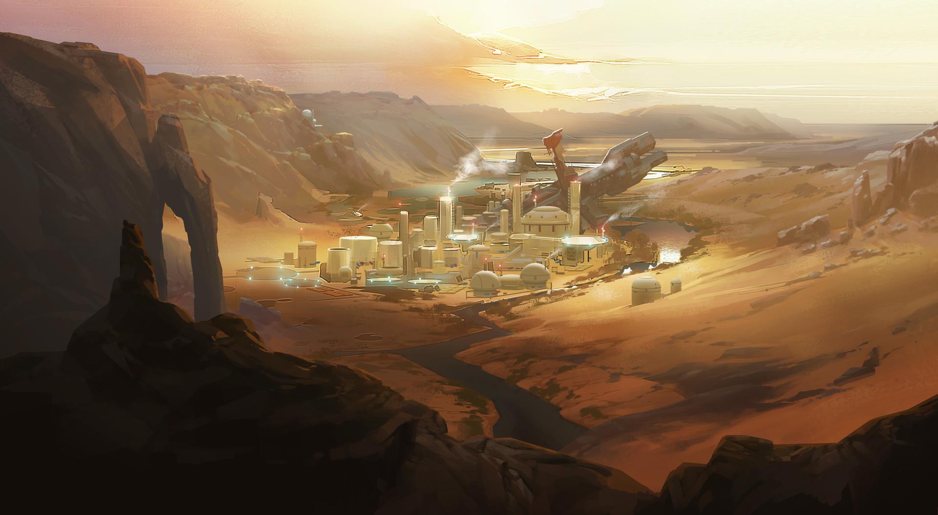 Arthur loftis rg000 bg a002 est wide dowshot on desert settlement v6 al