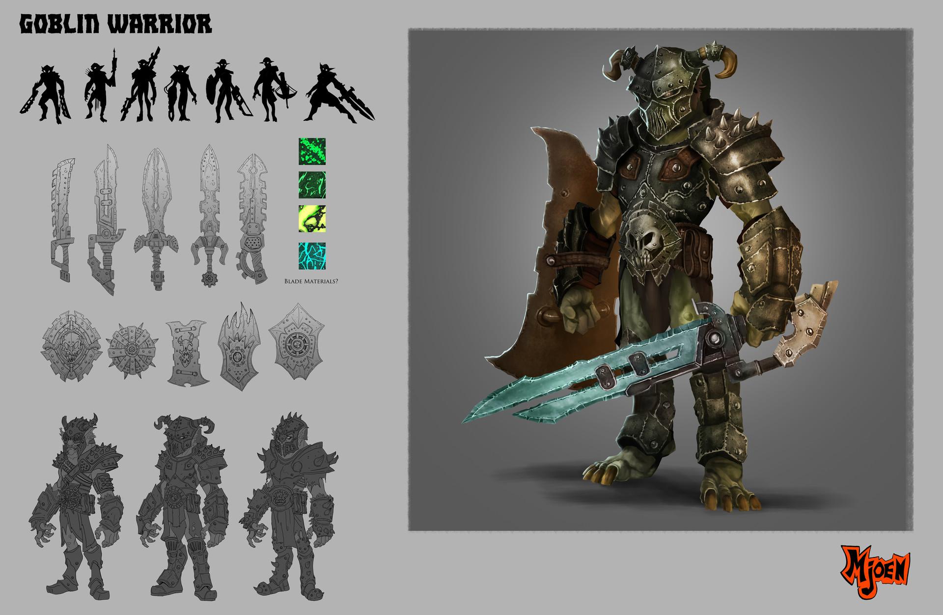 Kyle mjoen warrior goblin sheet