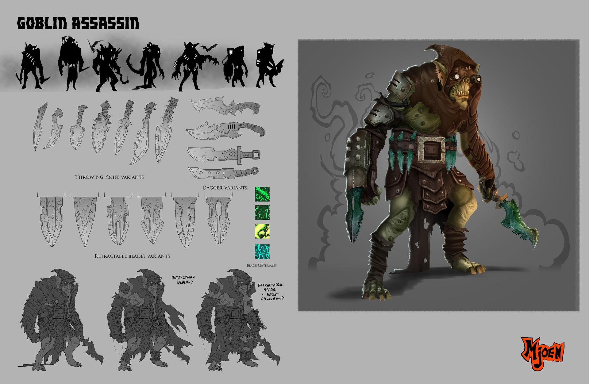 Kyle mjoen assassin goblin sheet
