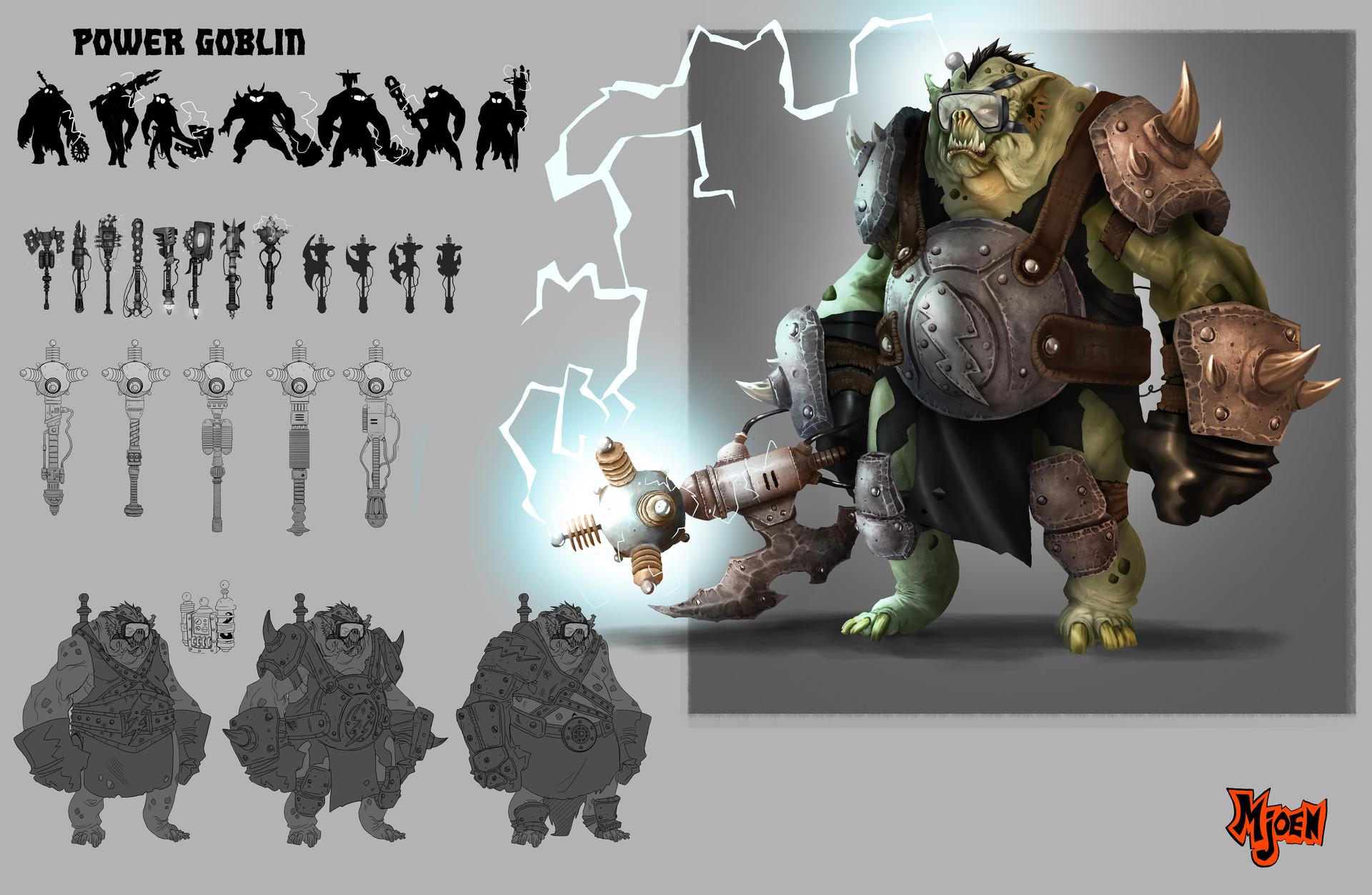 Kyle mjoen power goblin sheet
