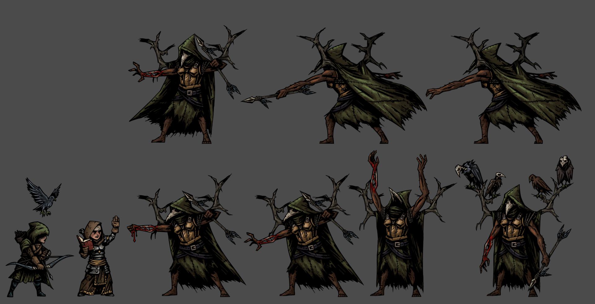 Marvin Seo Darkest Dungeon Mod Project Talon Brigands
