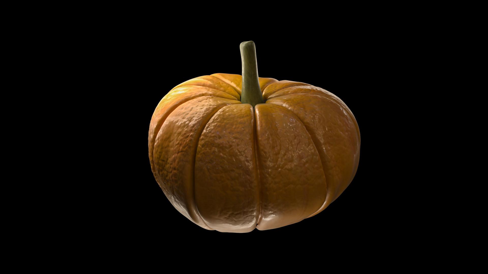 Michelangelo girardi pumpkin render ig