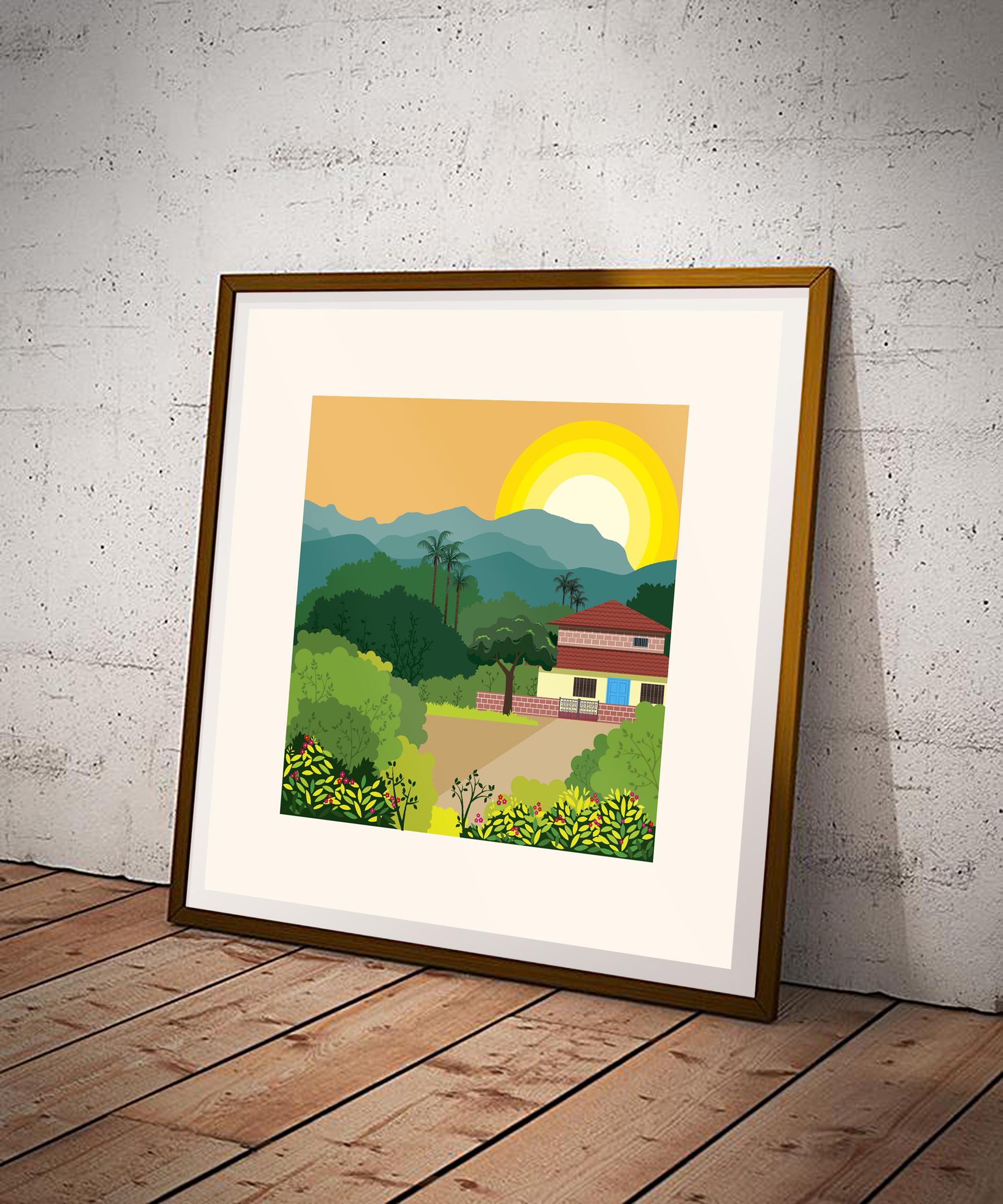 Rajesh r sawant konkan square art