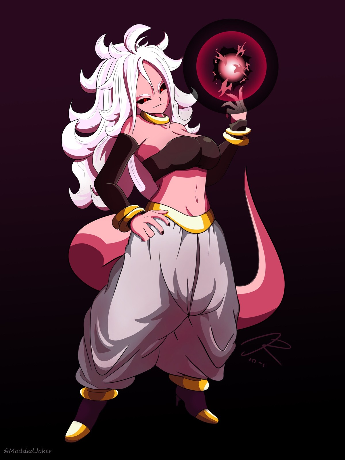 Android 21 Concept Pose