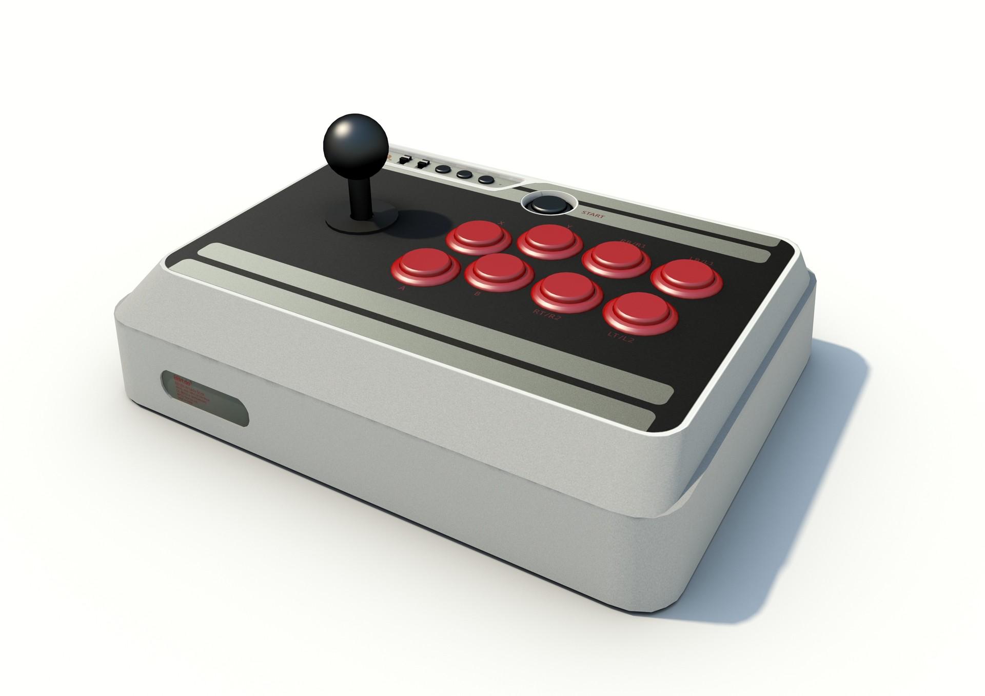 ArtStation - 8Bitdo N30 Arcade Stick, Bryan Ho