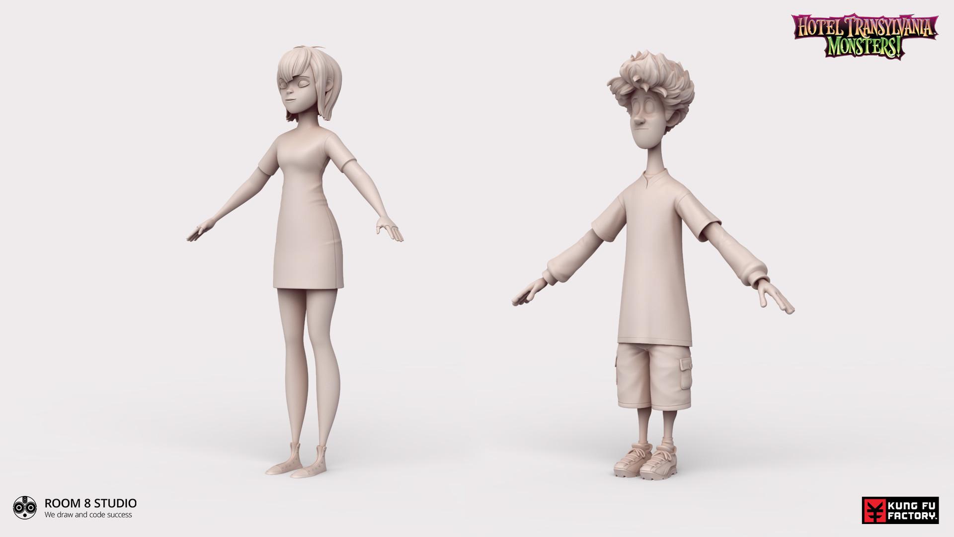 high poly models