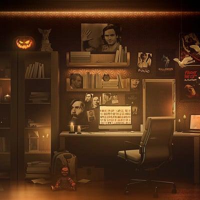 Encho enchev the halloween room
