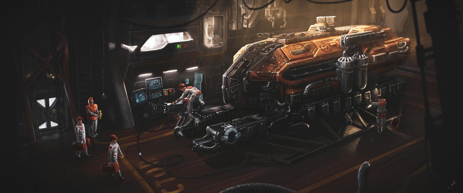 Mining Spacecraft