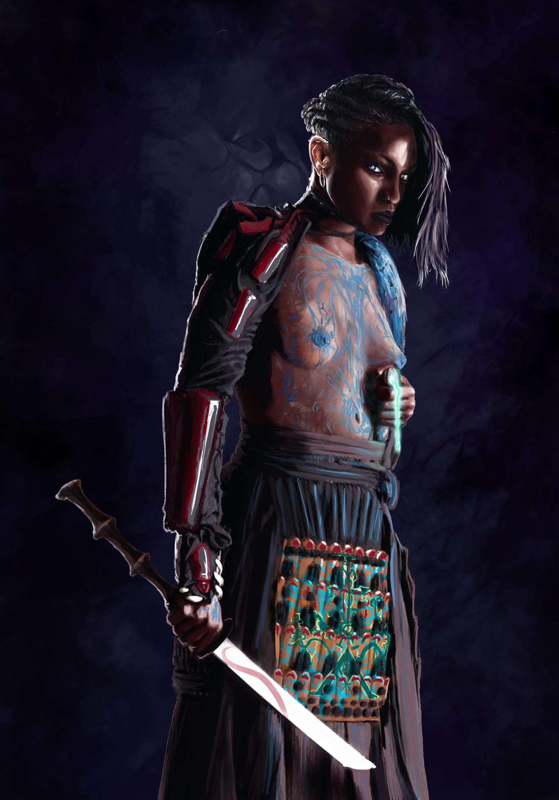 ArtStation - Witch Doctor, Nahuel Gabriel Dimarco Bustos
