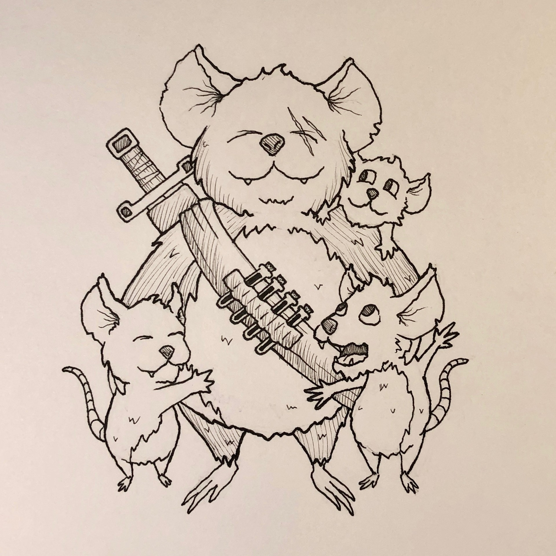 Inktober Day 9 - Precious