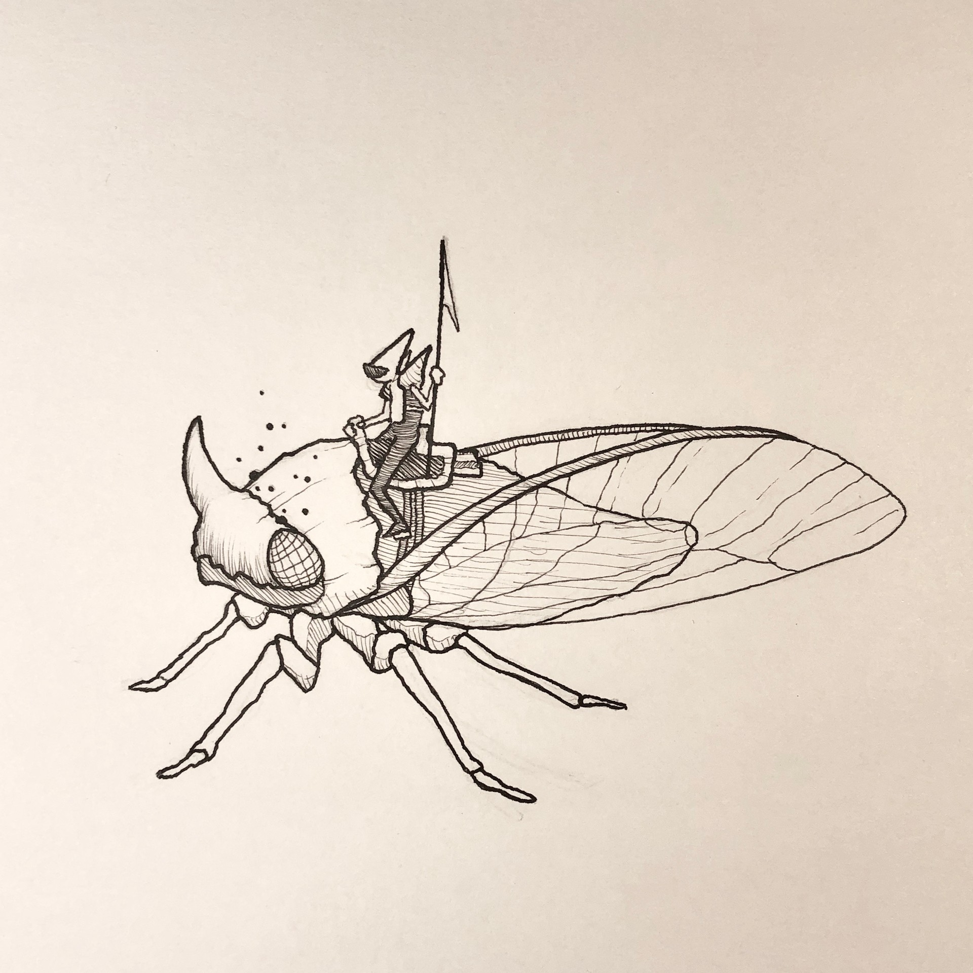 Inktober Day 16 - Angular