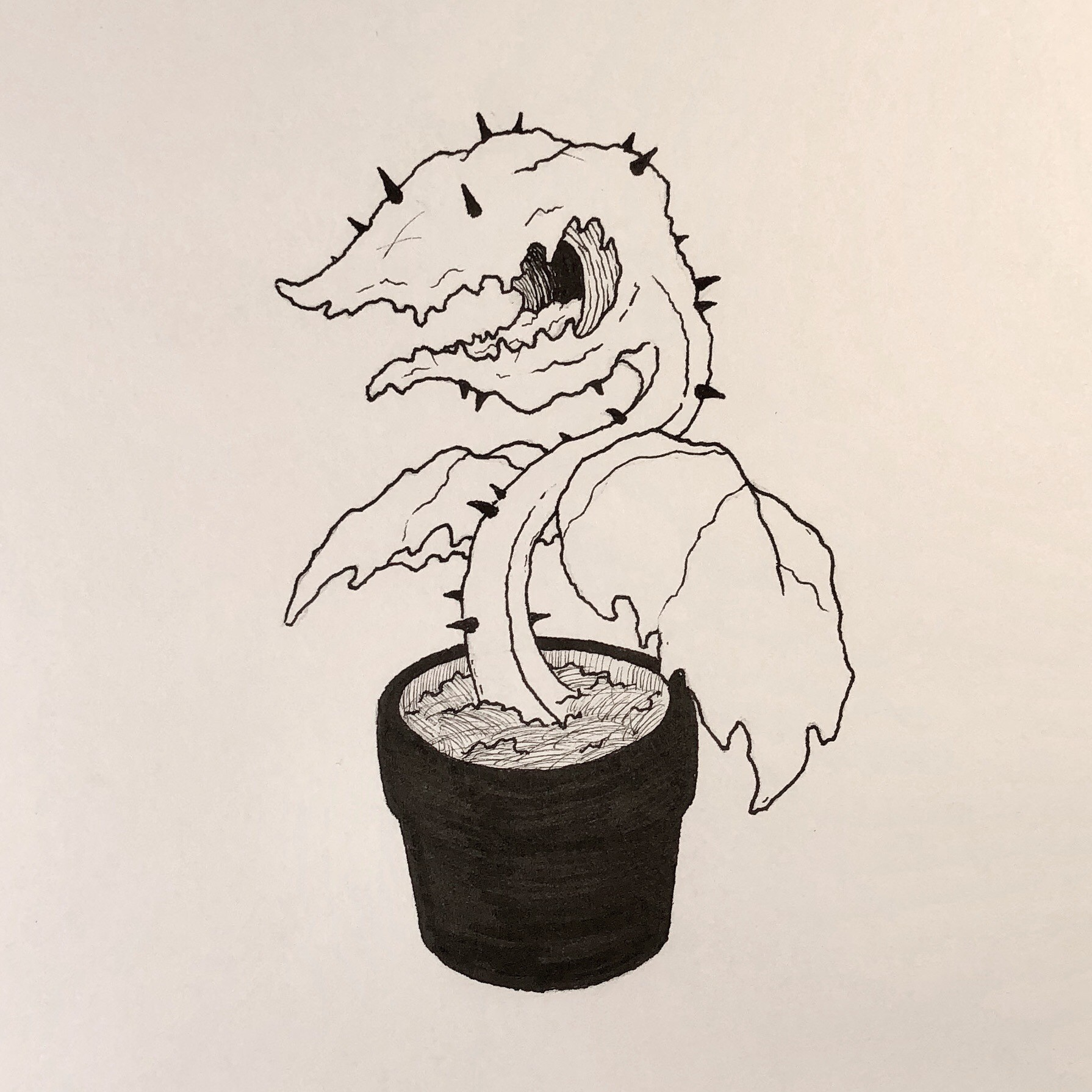 Inktober Day 25 - Prickly
