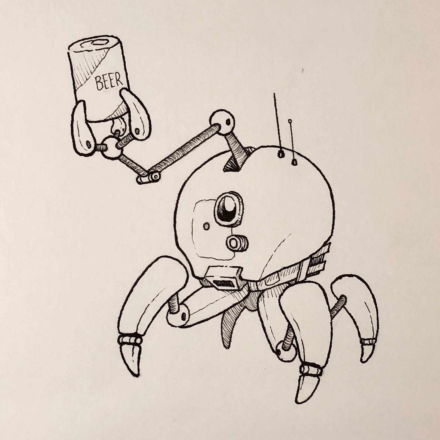Inktober Day 26 - Stretch