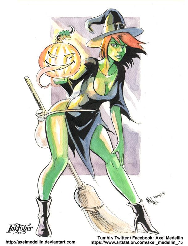 Inktober 31. Halloween