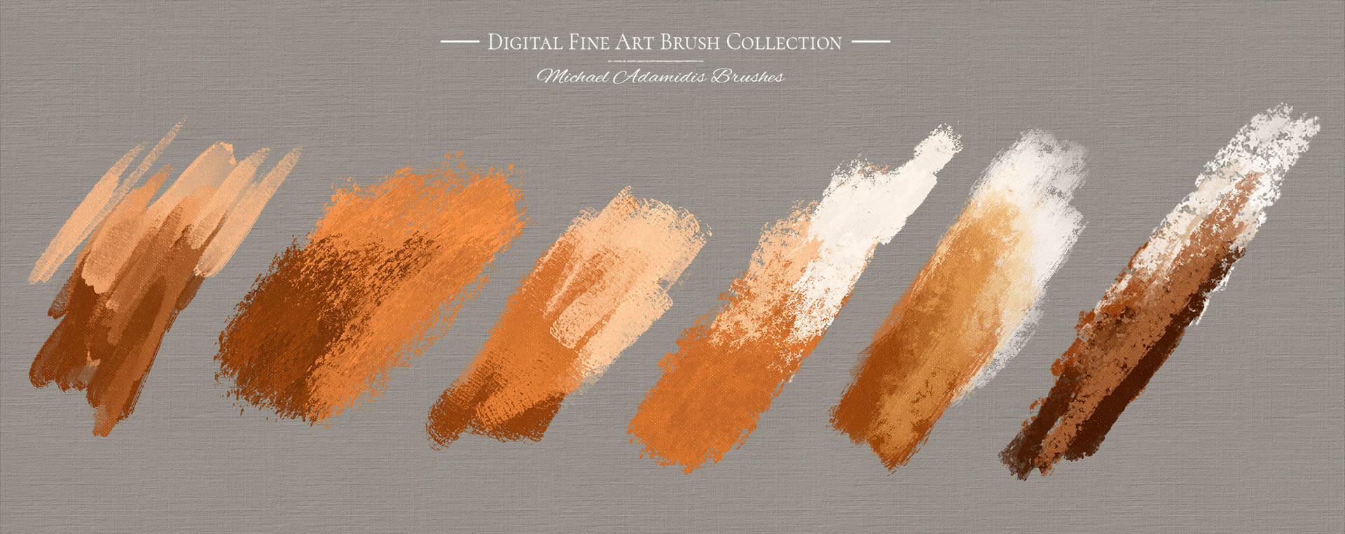 ArtStation - Here is an amazing example of the brushes of the MA