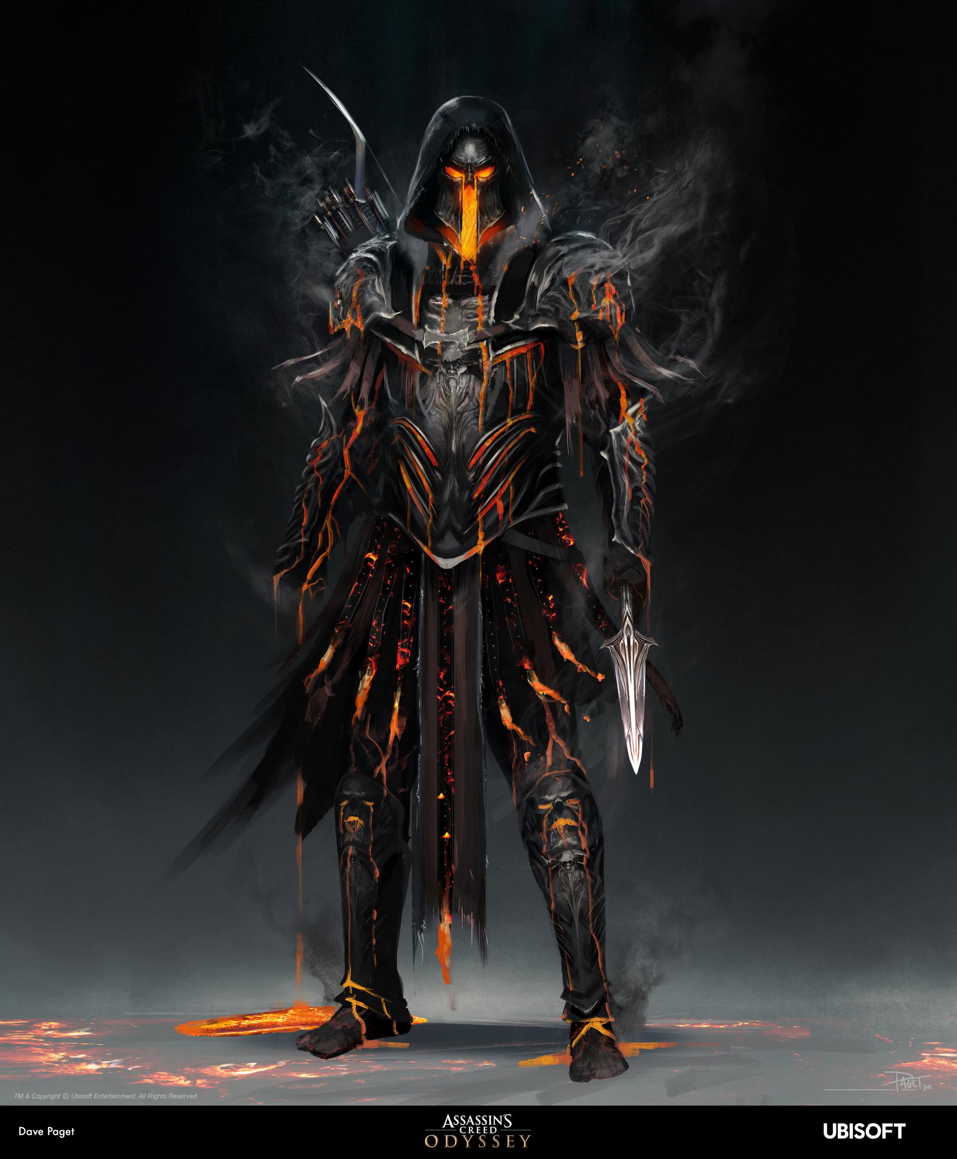 David paget underworld armour