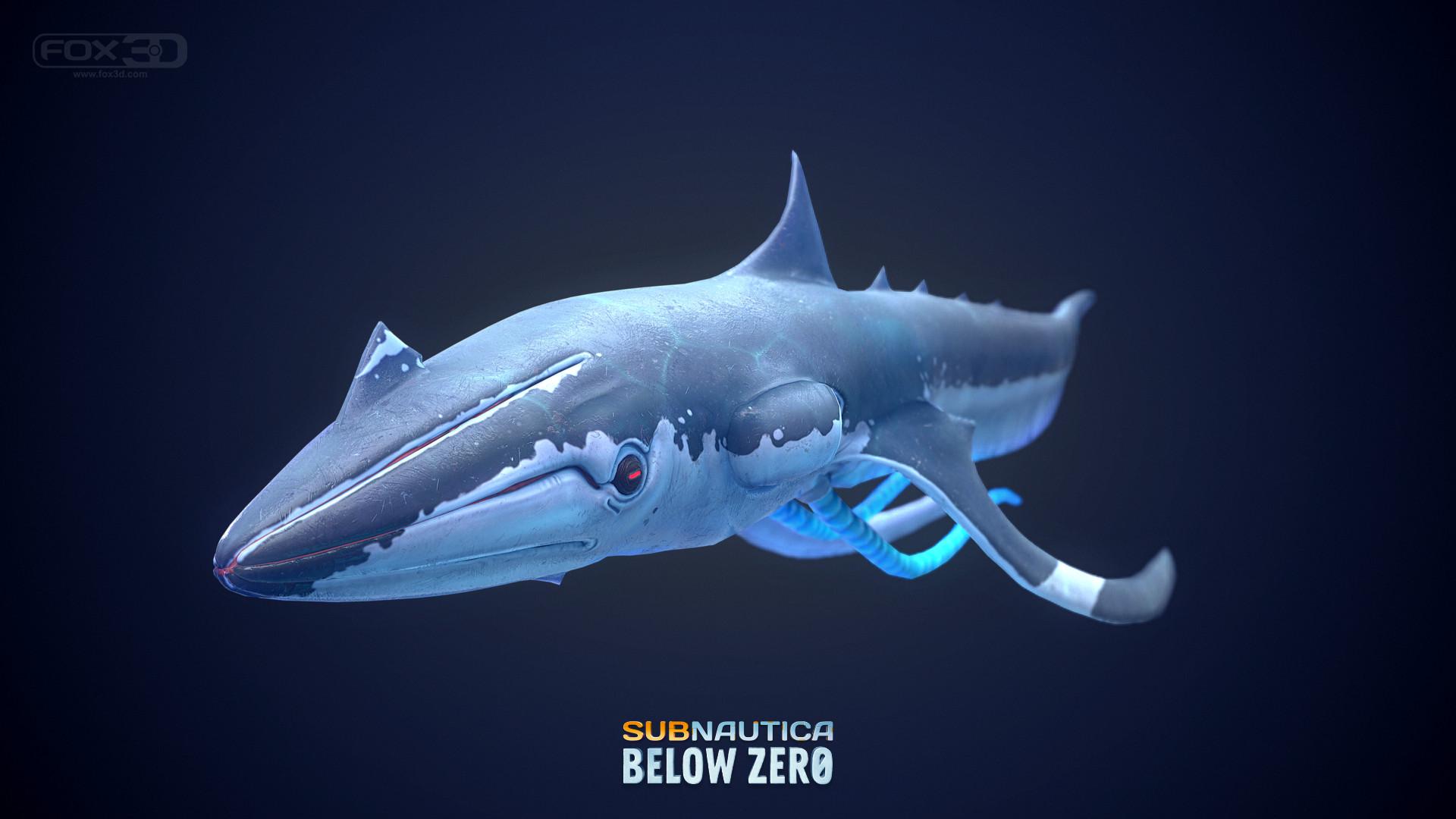 Subnautica Sub Zero Concept Art