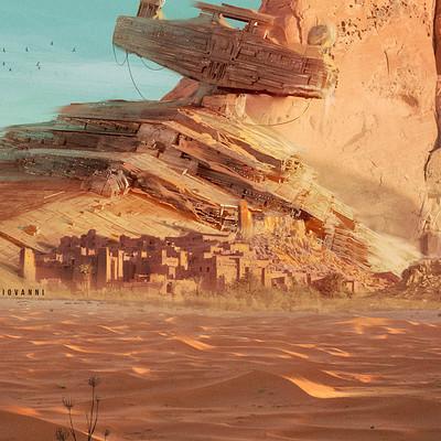 Giovanni calore star destroyer desert