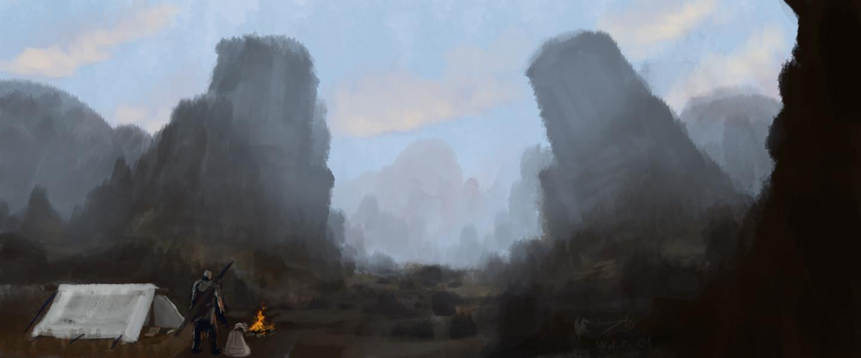 The Adventurer - WIP01
