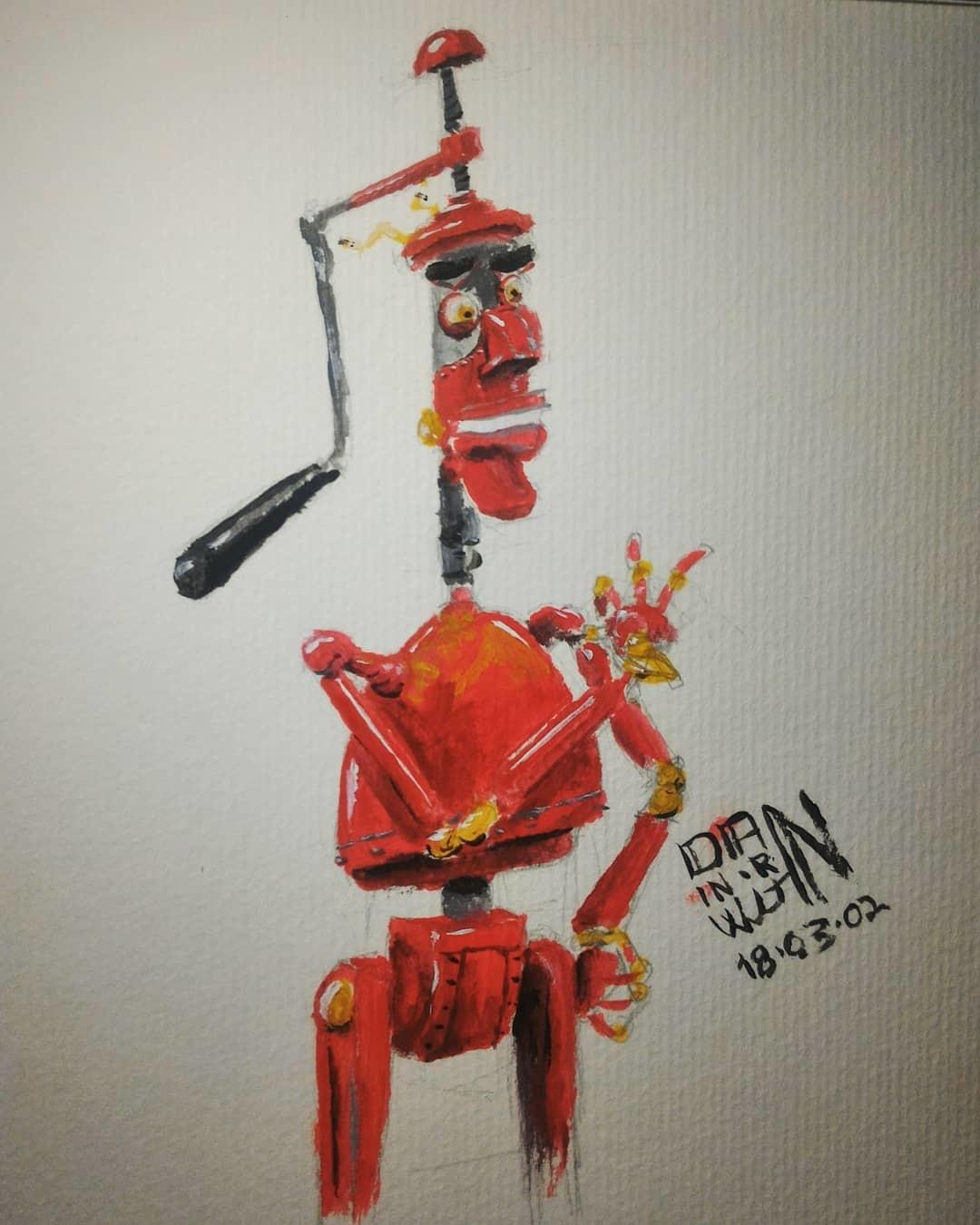 March Of Robots 02 - Fender - Robots (2005). Goache,