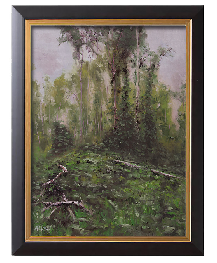 Arthur haas overcast day framed small