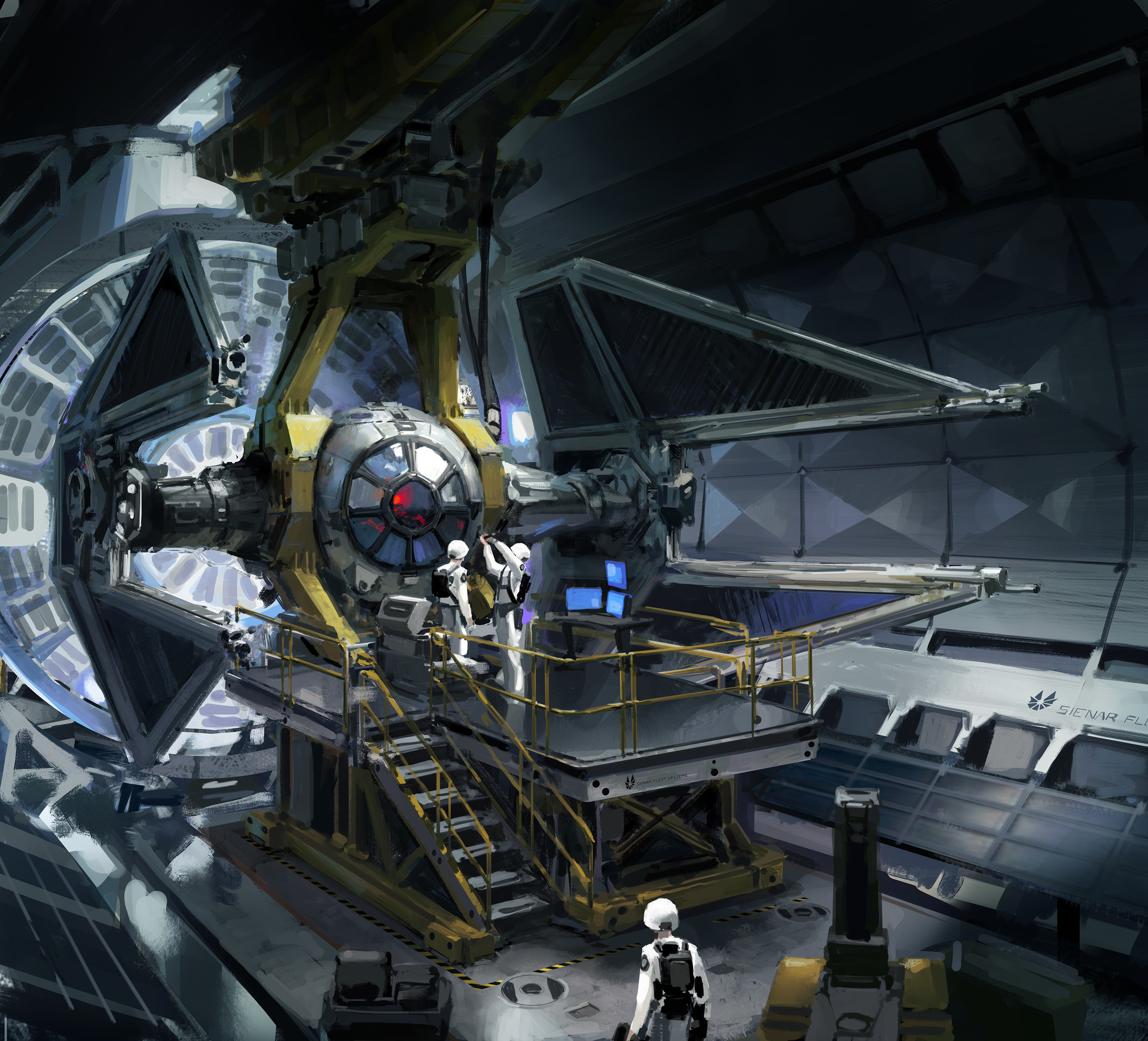 John wallin liberto tiefightermaintenance