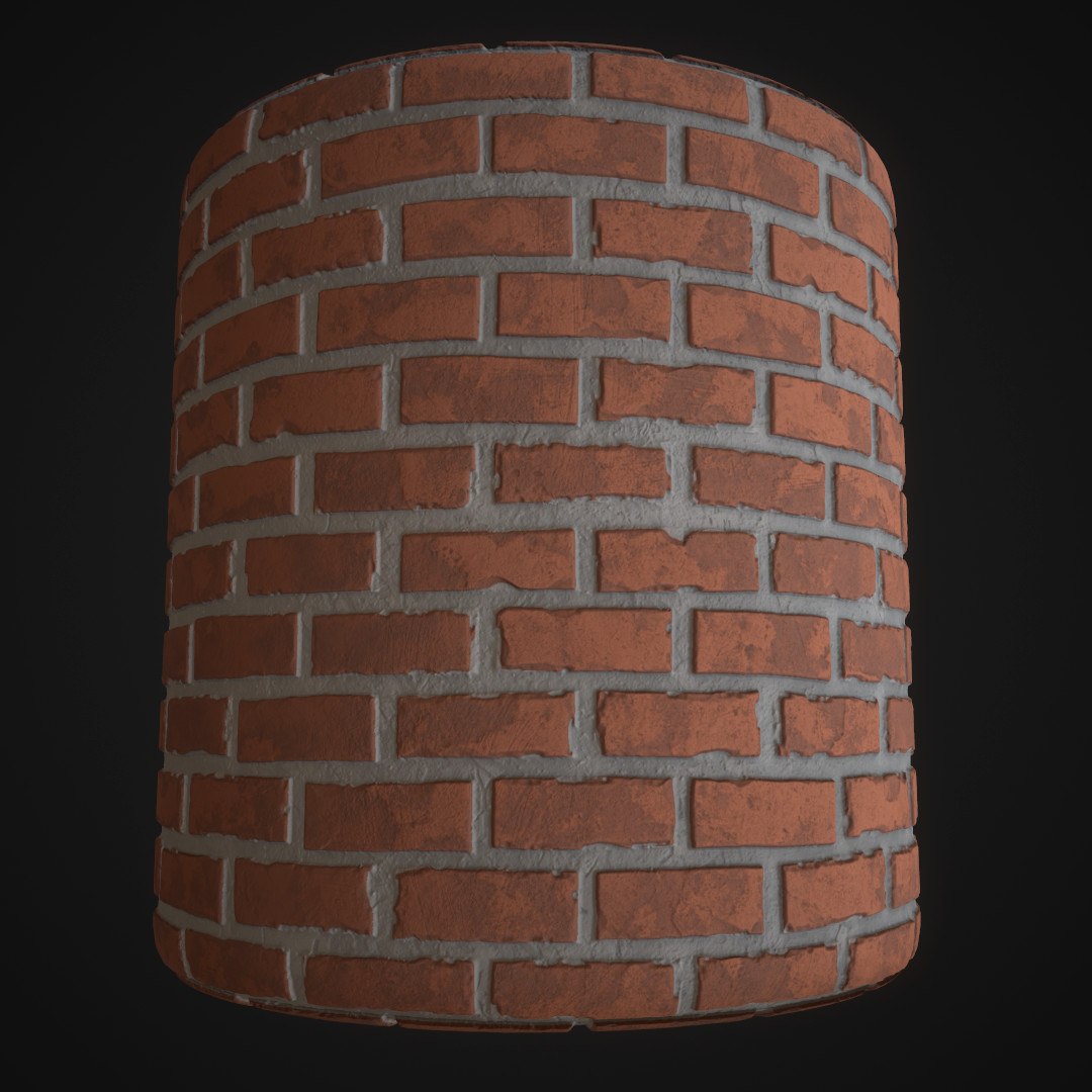 Barbershop Brick Wall