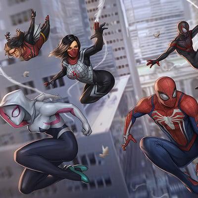 Sam delatorre 3 spiderverse