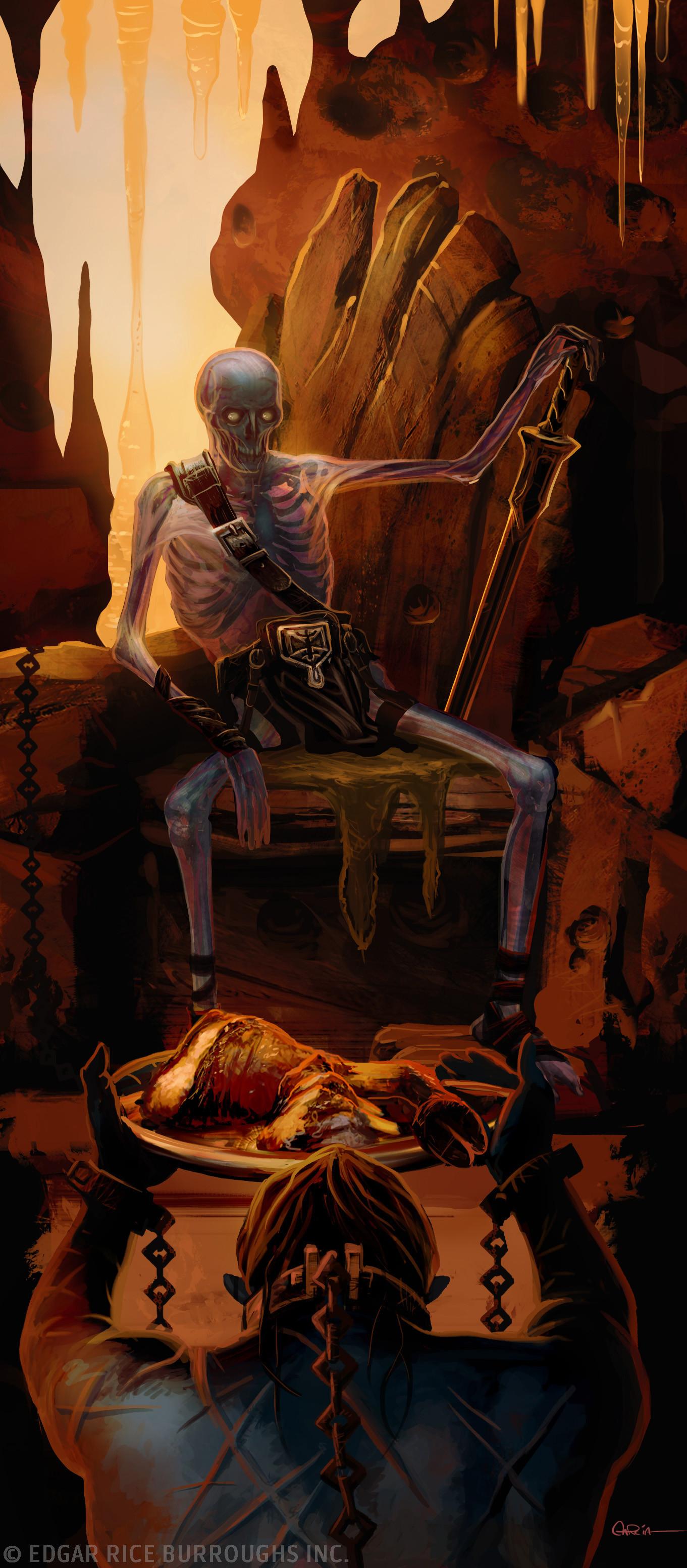 Chaim garcia chaim garcia morgors skeleton men of jupiter