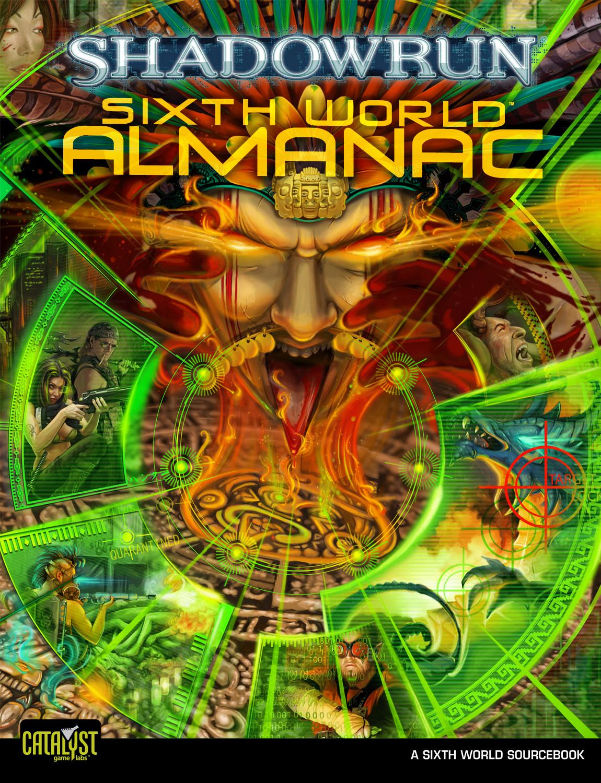 Shadowrun Almanac Cover (Catalyst Game Labs)