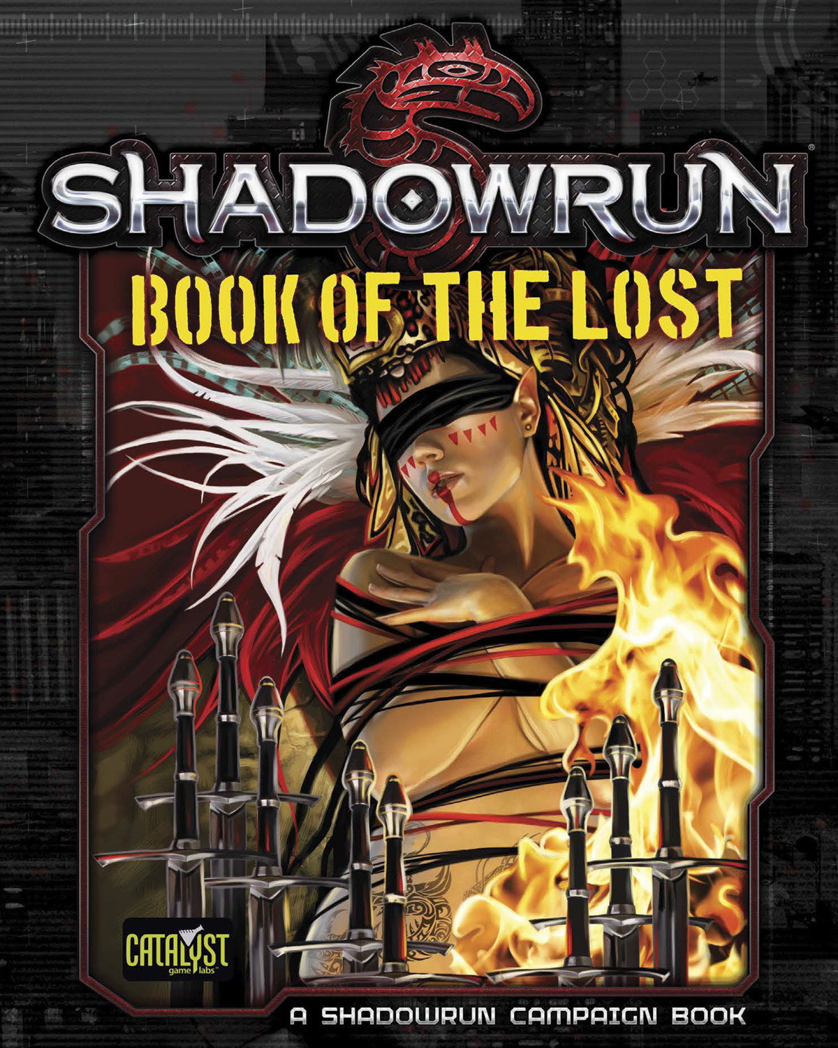 Book of the Lost Cover  (Catalyst Game Labs)