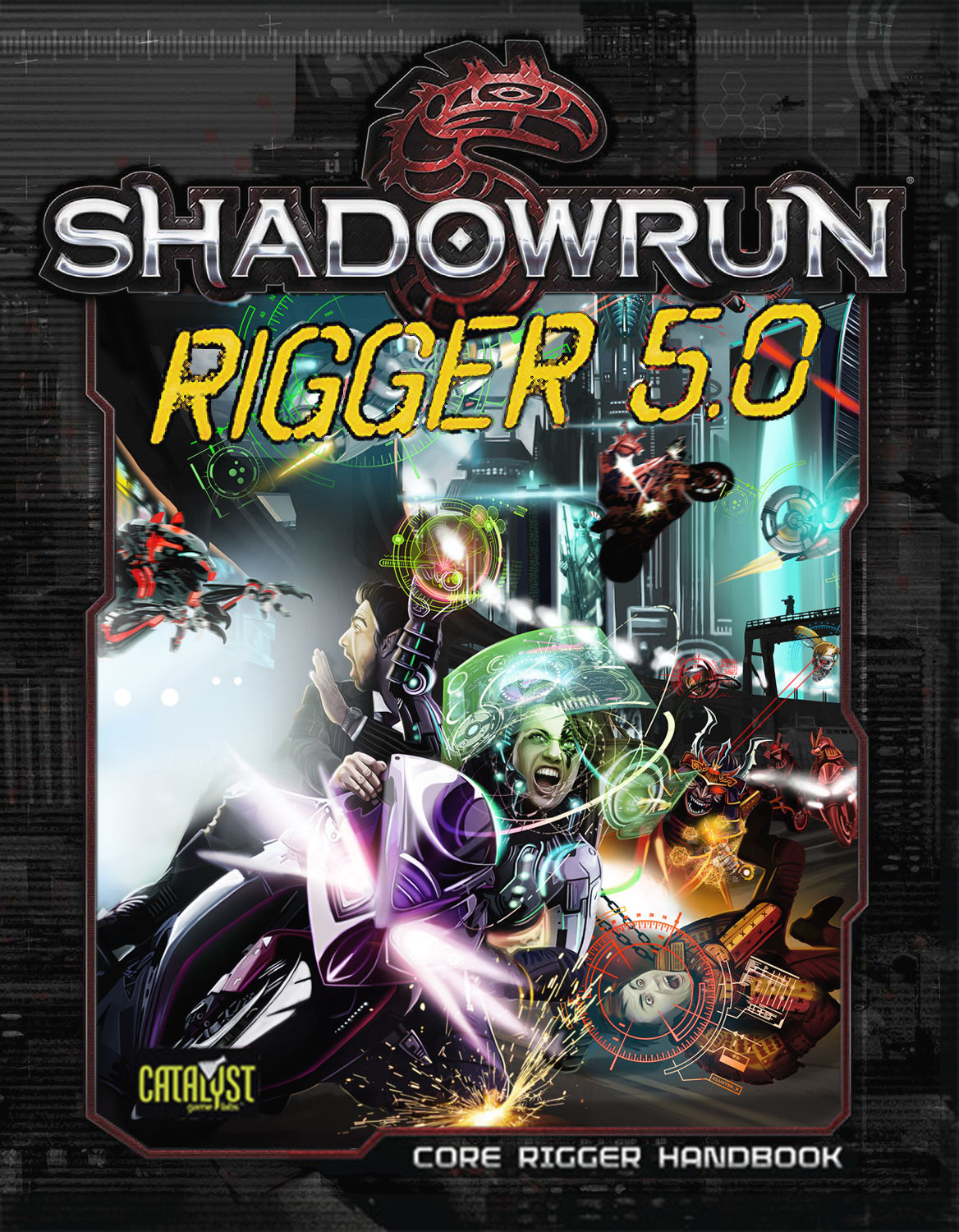 Rigger 5.0 Cover  (Catalyst Game Labs)
