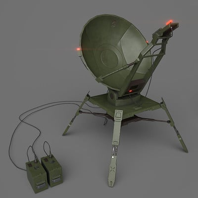Satellite Dish - Metal Gear Online Fan Art