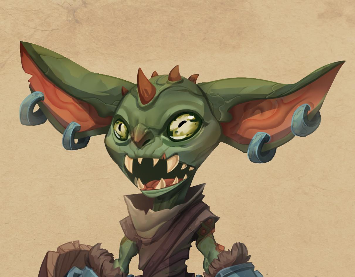 Corey shillingford procrasta goblins closeup