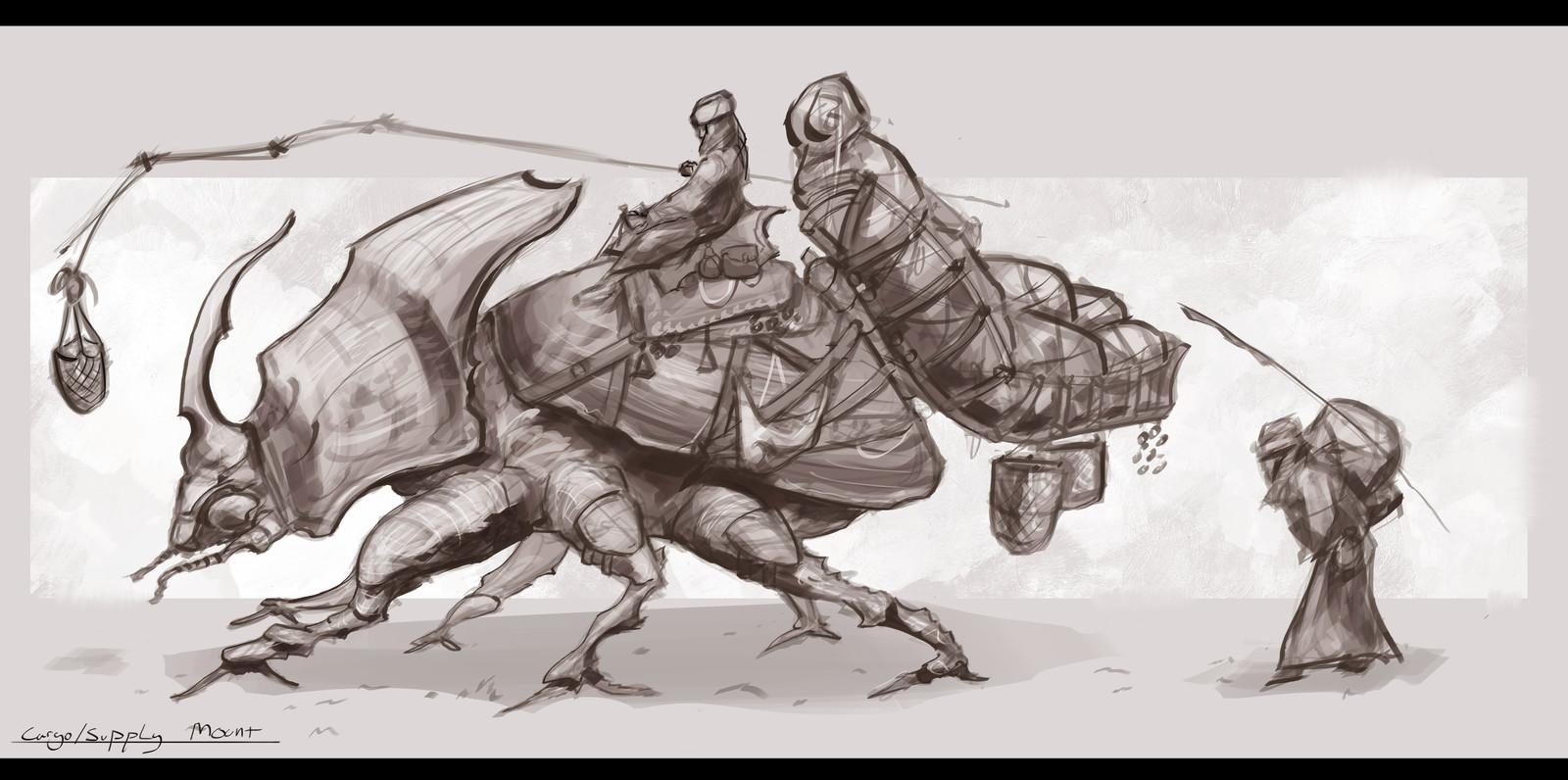 Beetle mounts