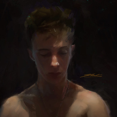 Joel codina 446 autorretrat 19 anys
