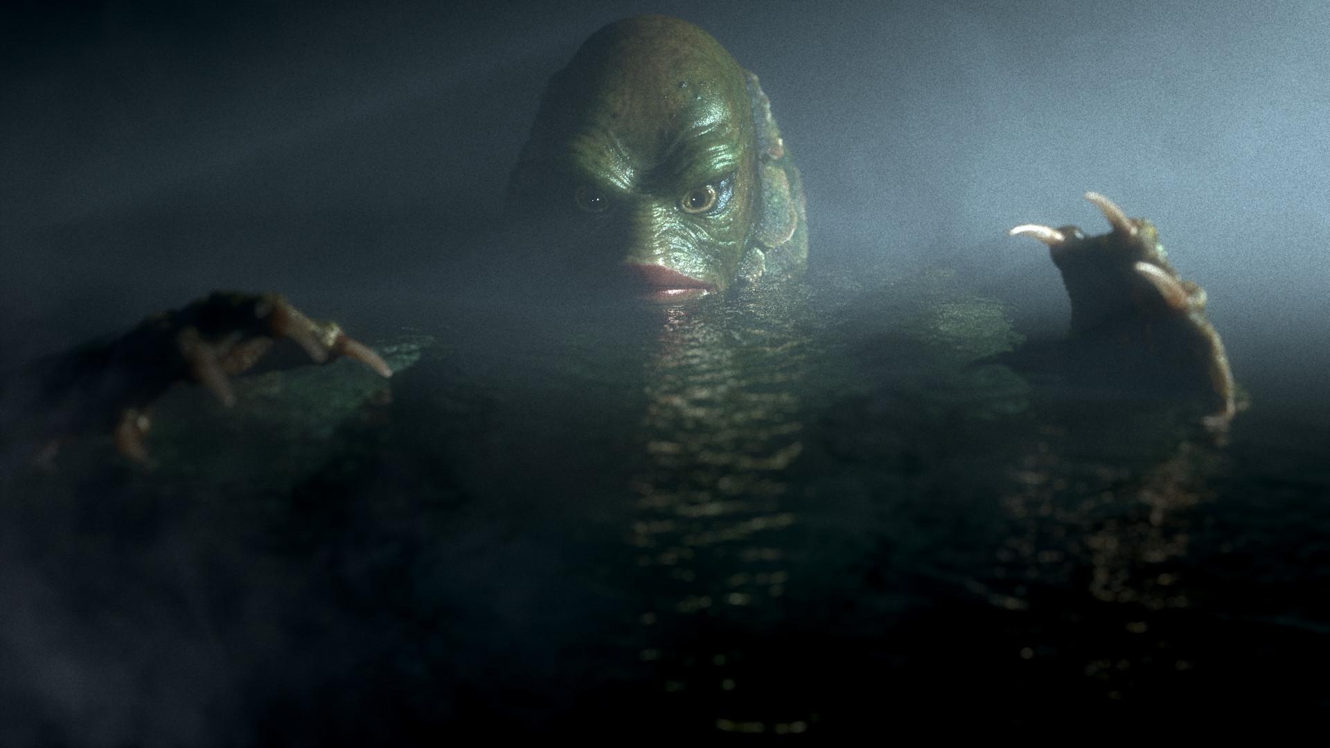 Artstation Creature From The Black Lagoon Ray Sullivan