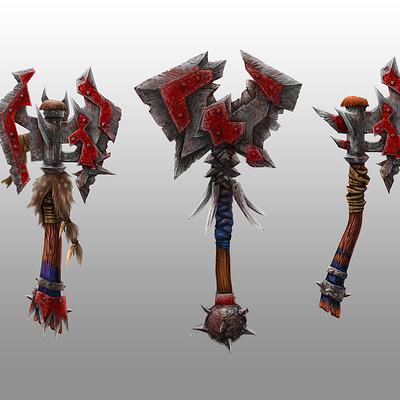Tom garden axes