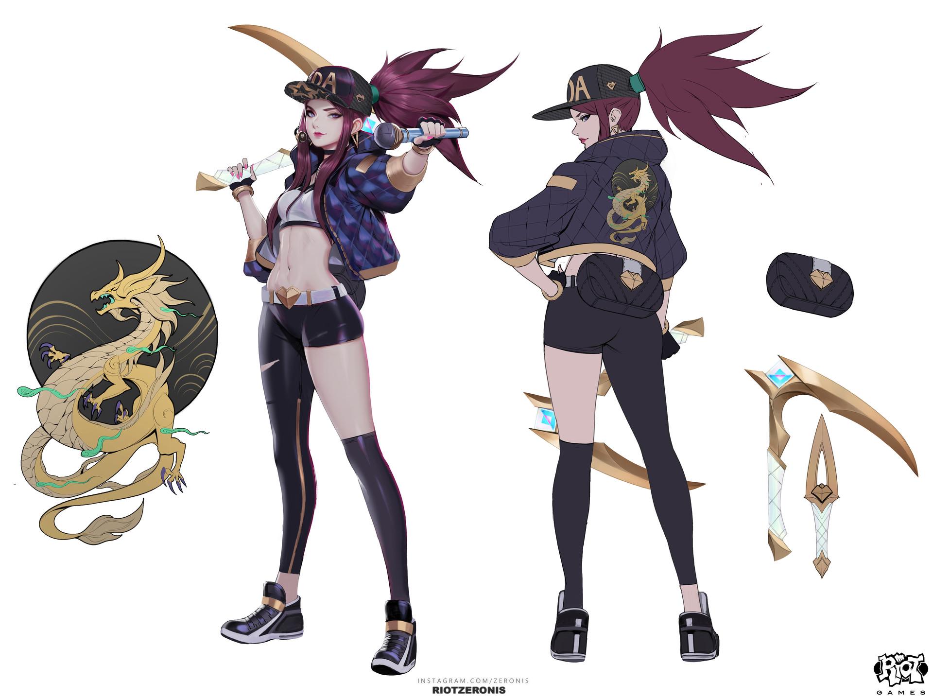 Artstation K Da Official Concept Art From League Of