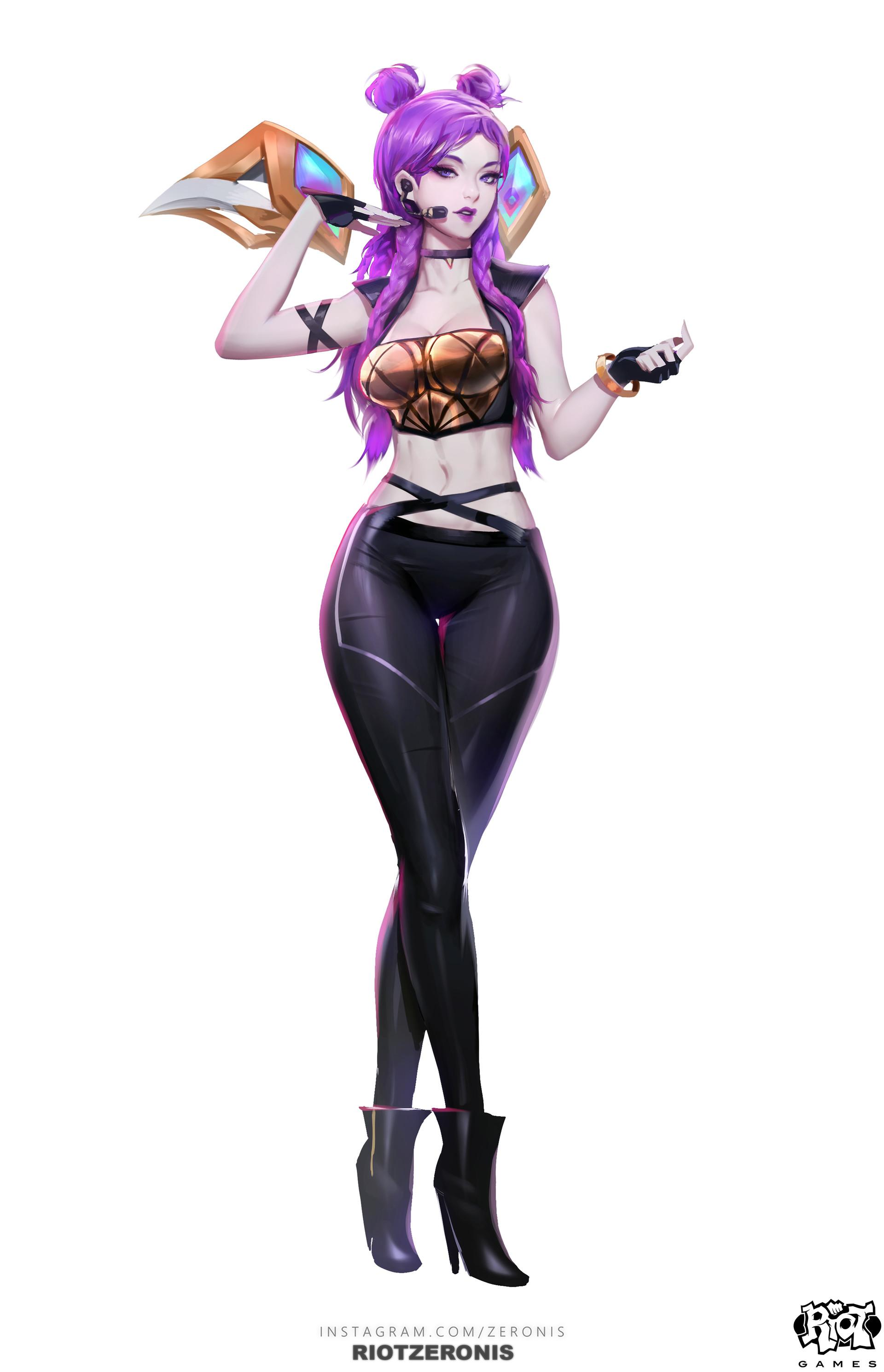Artstation K Da Official Concept Art From League Of Legends