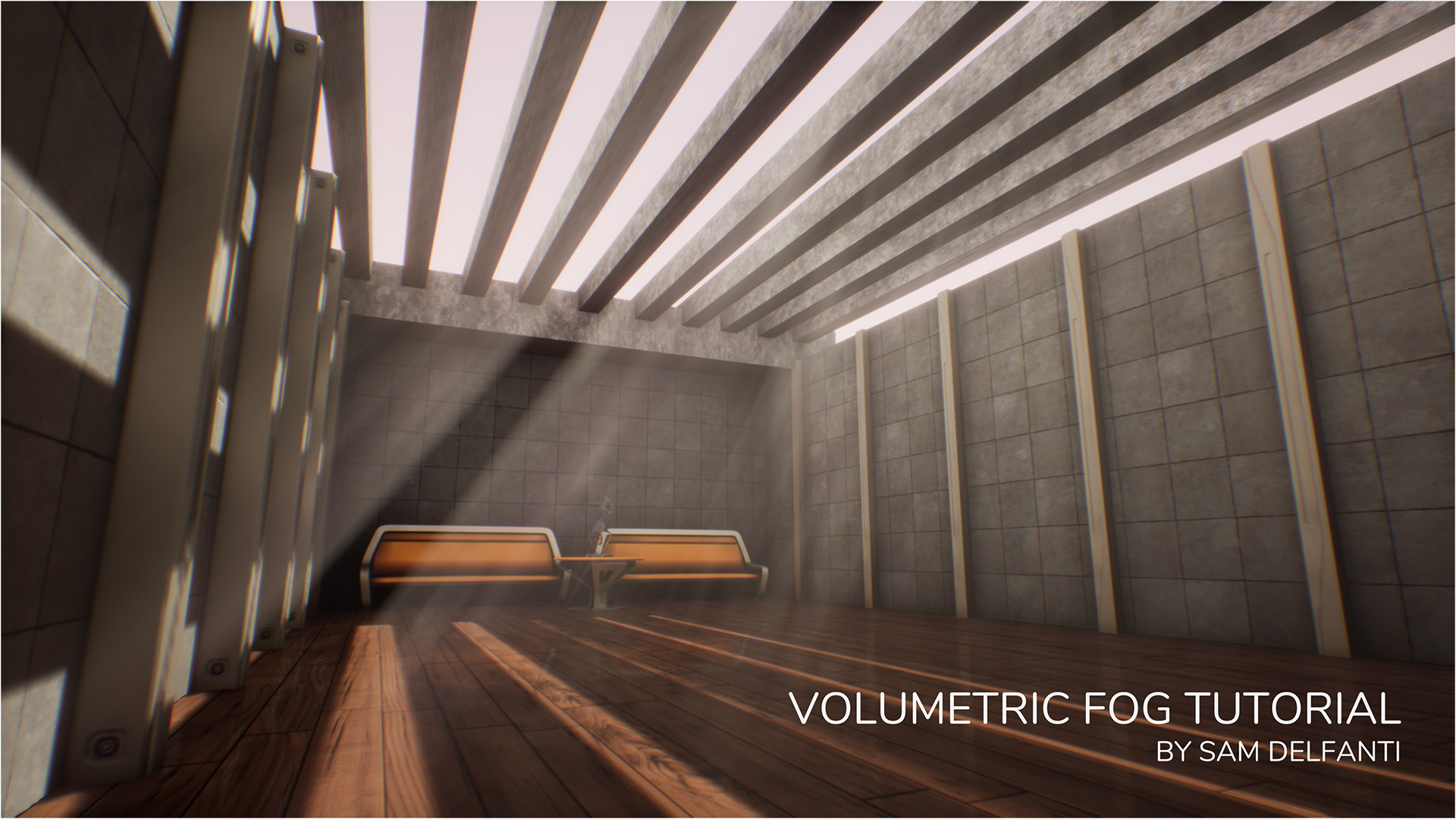 Artstation Unreal Engine 4 Tutorial Easy Volumetric Fog And Light Shafts Sam Delfanti