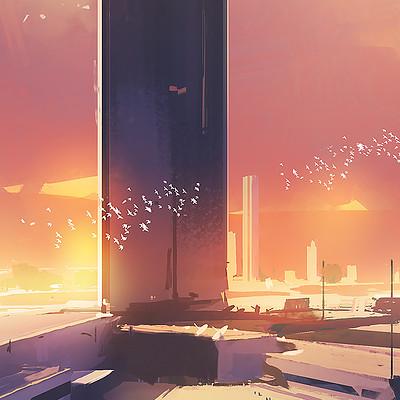 Amir zand sunset2