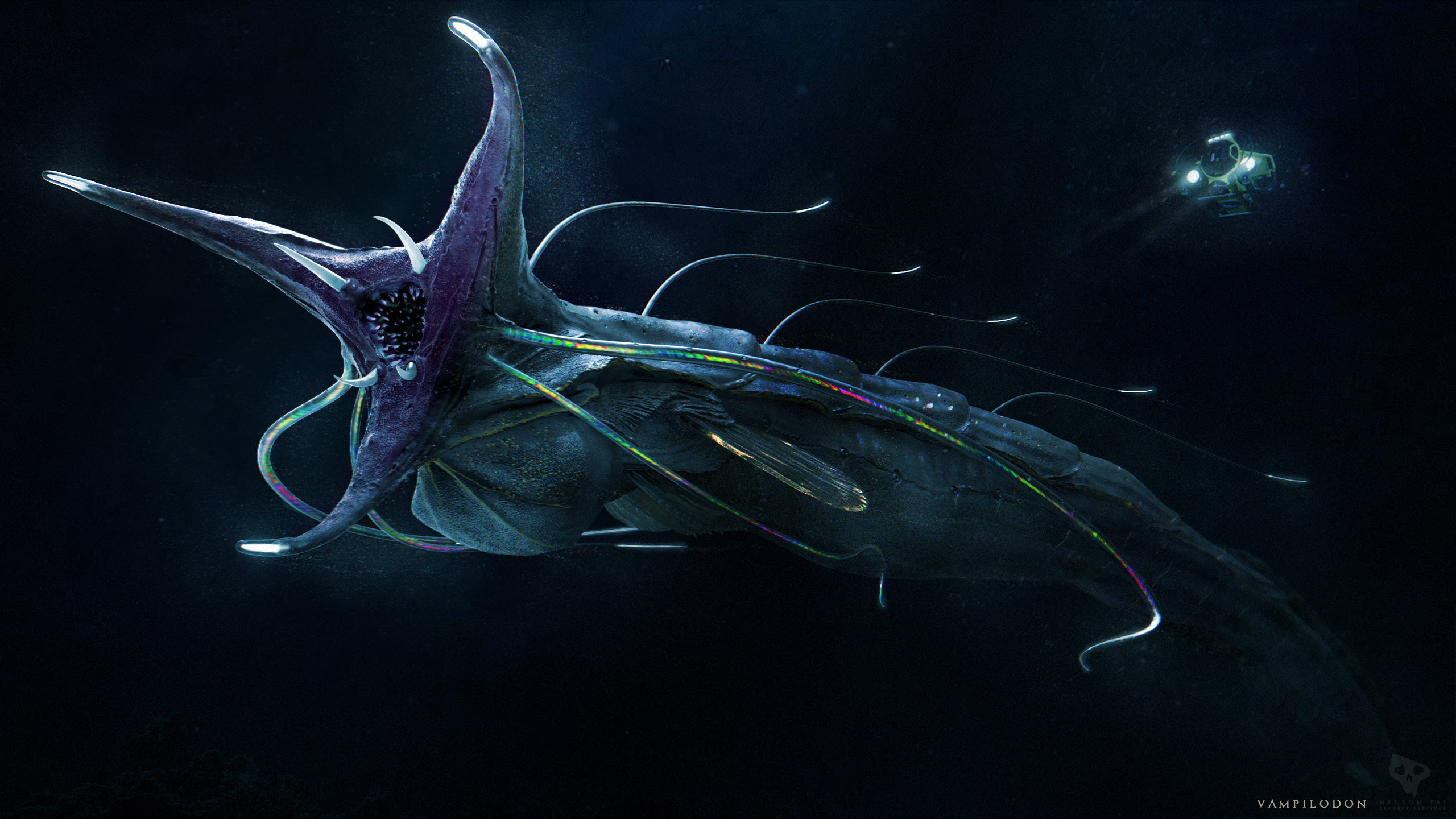 Deepsea Challenger X follows the unknown