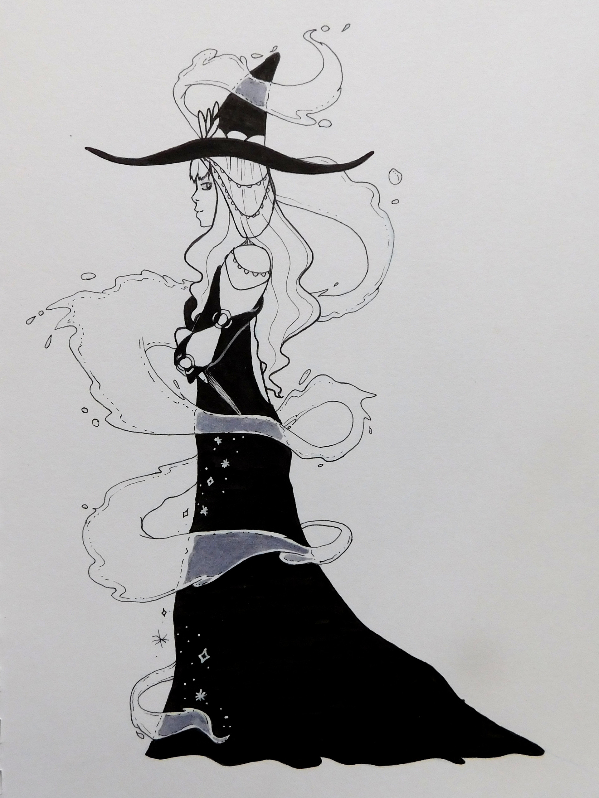 Flowing-Water Witch