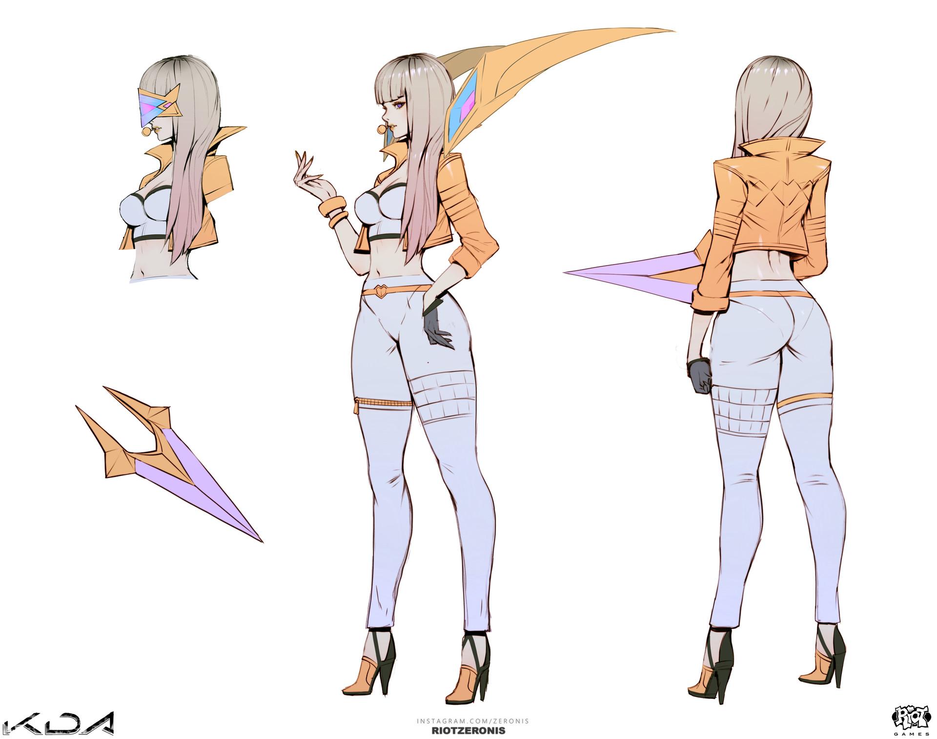ArtStation - K/DA - Official Concept Art from League of Legends