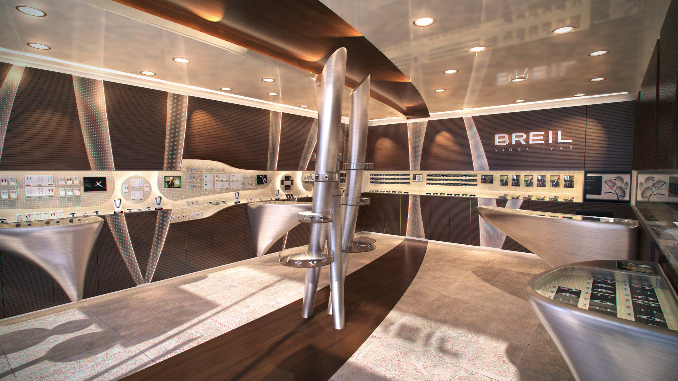 Breil Retail Store, second iteration