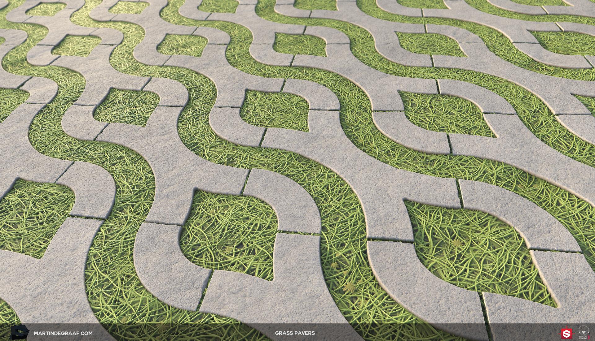 Martin de graaf grass pavers substance plane2 martin de graaf 2018